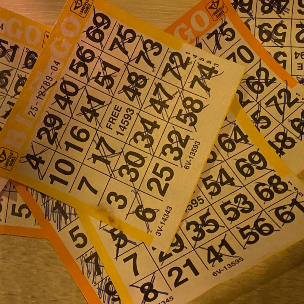 Online Kerst Bingo 2020